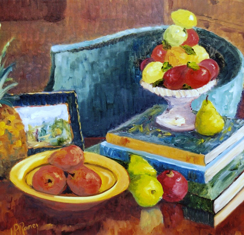 library-still-life-24x30