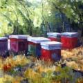 Hillside Bee Houses - Tuscany