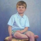 Donald 3/4 pastel portrait